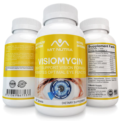Visiomycin - Sight / Vision Support Formula