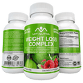 Weight Loss Complex - All in One - Garcinia Cambogia, Green Coffee, Green Tea and Raspberry Ketones