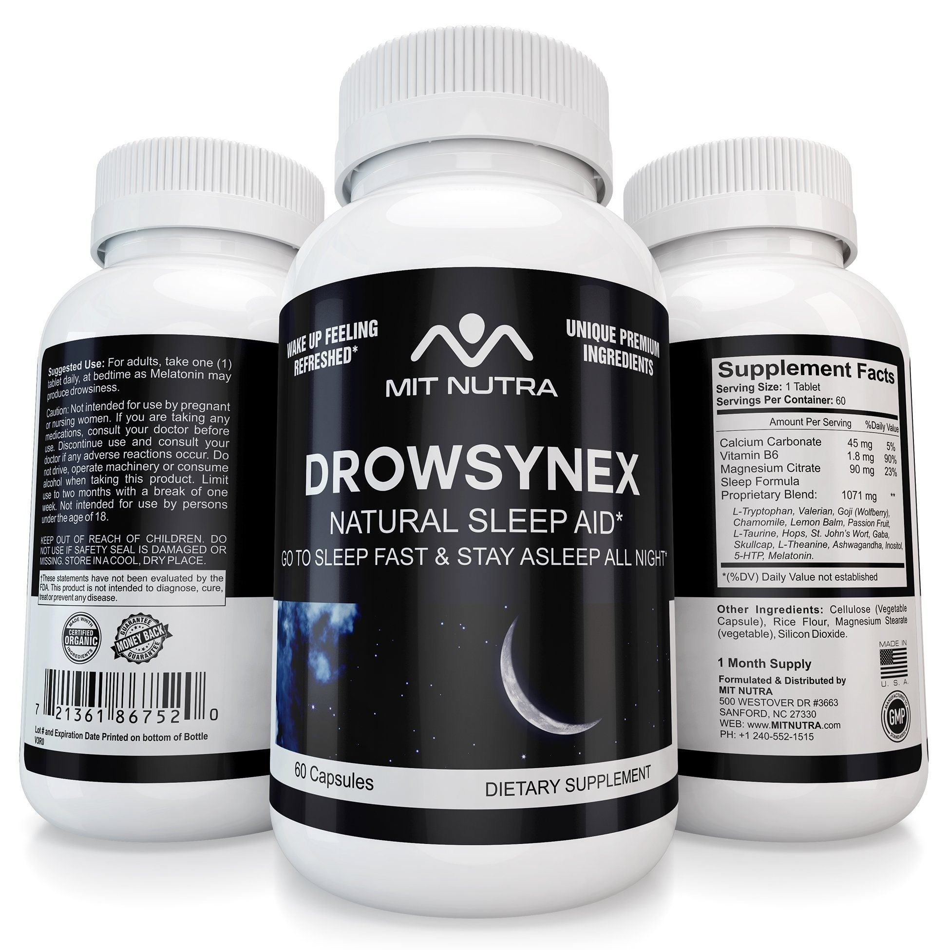 Drowsynex - Natural Sleep Aid That Works!
