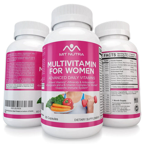 Women Multivitamin - The Best Multivitamin for Women - Advanced Daily Vitamins