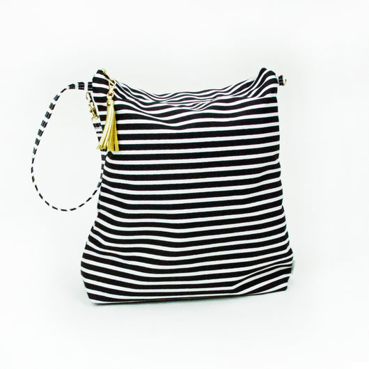 Hobo Bag Audrey Stripe