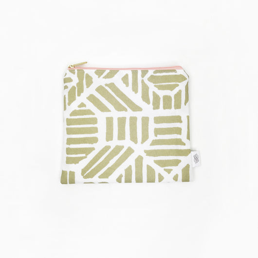 Petit Pouch Gold Tribal