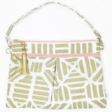 Wristlet Clutch Gold Tribal