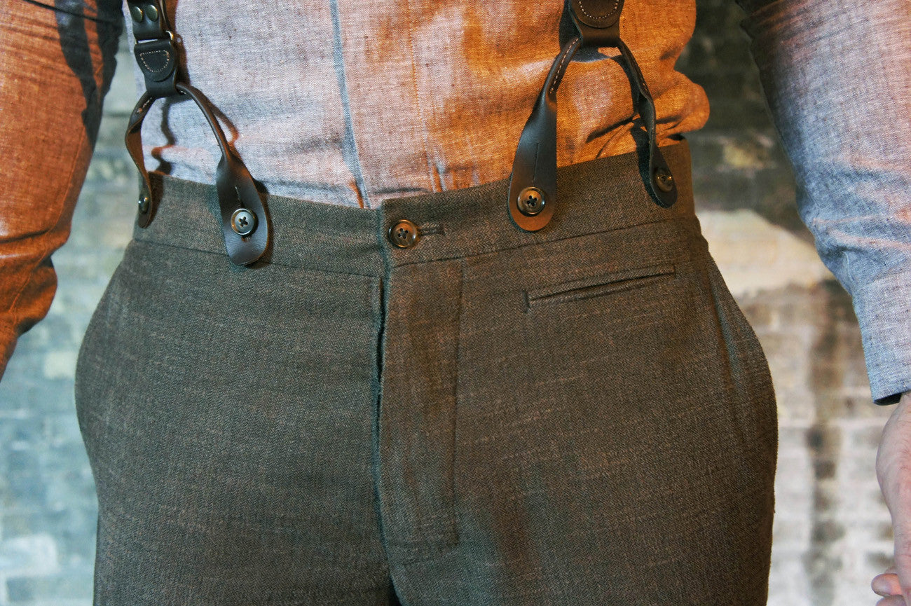 Fishtail Back Trousers Bykowski Tailor Amp Garb