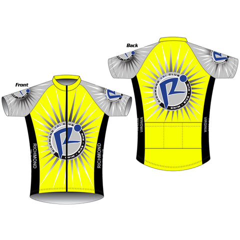Richmond Cycling Jersey Hi Vis (BJ / WBJ)