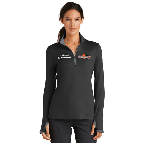 Elm Fork Nike ¼ zip Pullover – Ladies (779796)