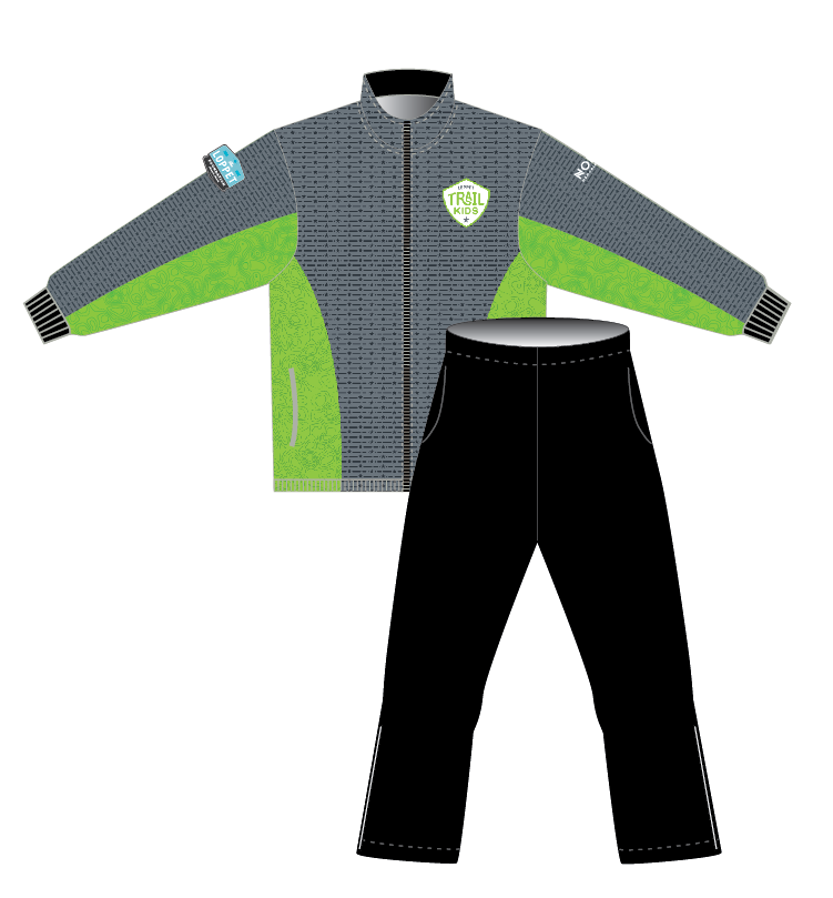 Loppet Trail Kids 2019 YOUTH Warm Up Jacket & Pants *PACKAGE DEAL*