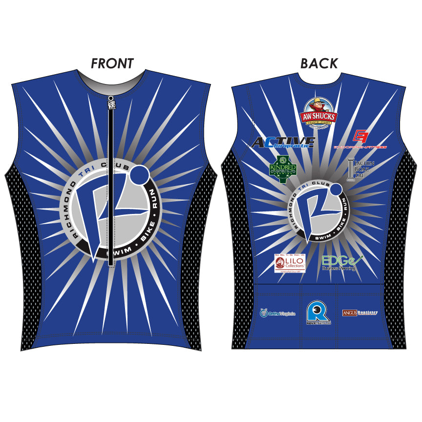 Richmond Carrera Tri Jersey - Mens (CTJ)