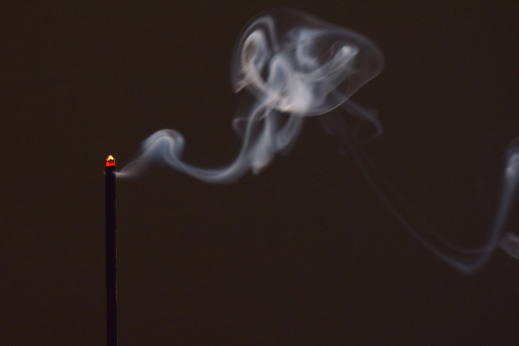 Incense Burning and smoke