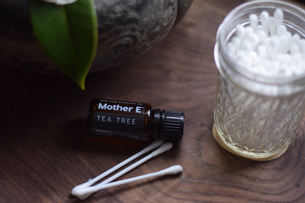 Tea Tree with Q-Tips