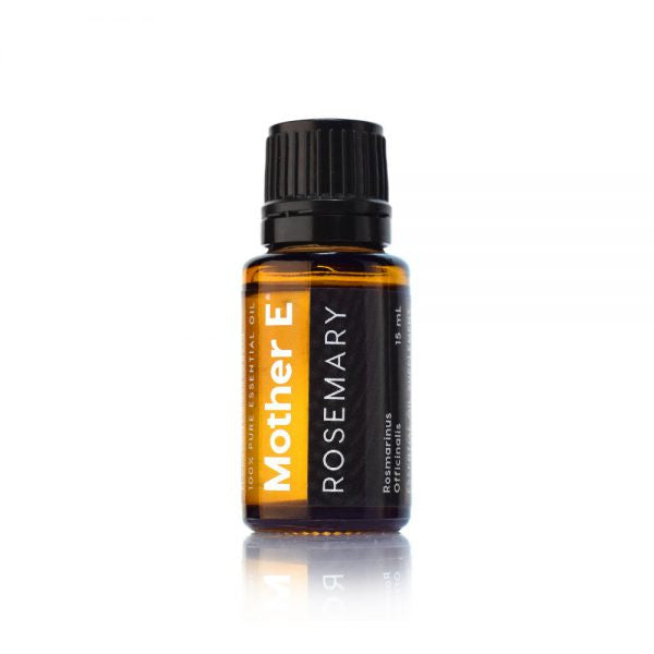 Mother E Rosemary Pure Essential Oil, standard bottle