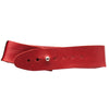 Image of Anklet wide - Deep Red