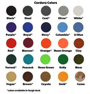 Cordura Fabric Colors