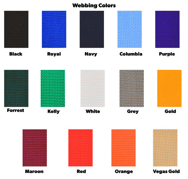 Webbing Colors