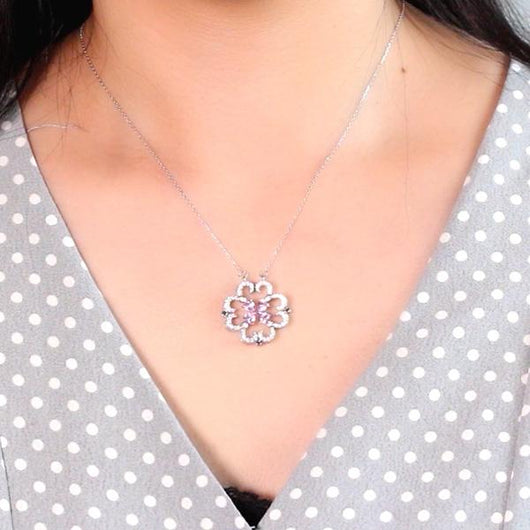 Blooming Flower Magnetic Necklace