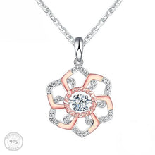 Load image into Gallery viewer, Luxe Perfect Petals Pendant Necklace