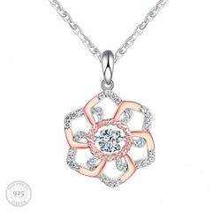 Luxe Perfect Petals Pendant Necklace
