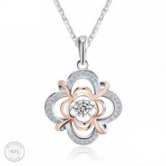 Luxe Flower Pendant Necklace