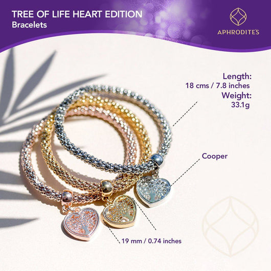Tree of Life Window Box  - Tree of Life Heart Edition Charm Bracelets