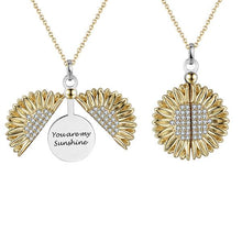 "Load image into Gallery viewer, ""You Are My Sunshine"" Pendant Necklace Gift Set"