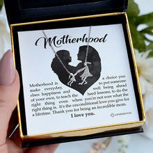 Load image into Gallery viewer, Motherhood - Mother Daughter Embrace Necklace Gift Set
