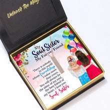 "Load image into Gallery viewer, ""Soul Sister"" I Love You Secret Sentiments Necklace Pendant"