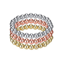 Load image into Gallery viewer, GLITZ AND GLAM STACKABLE BEADED BRACELET - LARGE