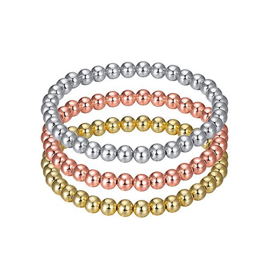 Glitz and Glam Stackable Beaded Bracelet - Medium