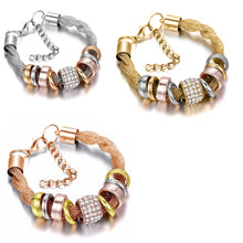 Load image into Gallery viewer, 3 Sets of Entwined Metal Bracelet Trio - 9pc Set