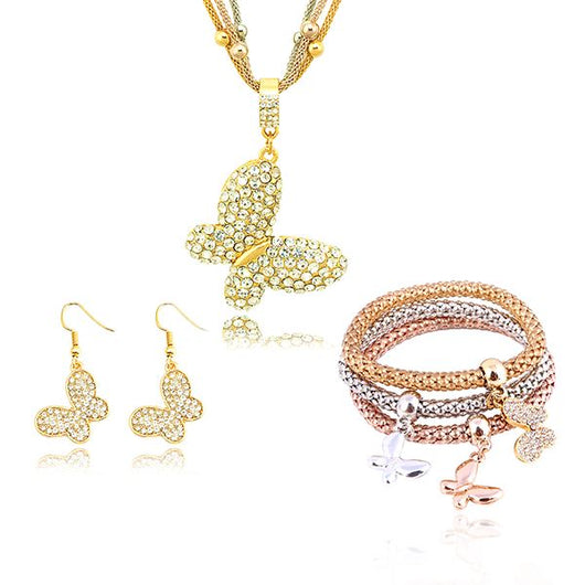 Solid Butterfly Charms Bundle