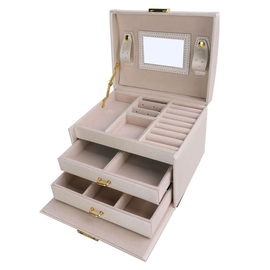 Mirrored Jewelry Box Plus $250 Worth of Jewelry