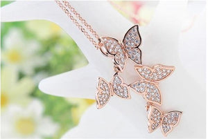 Free Spirit Butterfly Pendant Necklace