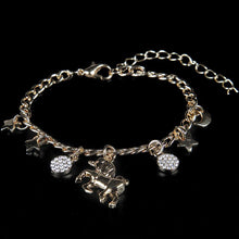 Load image into Gallery viewer, Unicorn Dreams Charm Bracelet