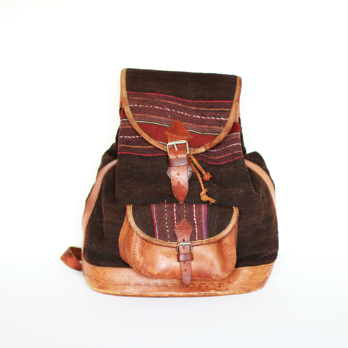 1970s Peruvian backpack