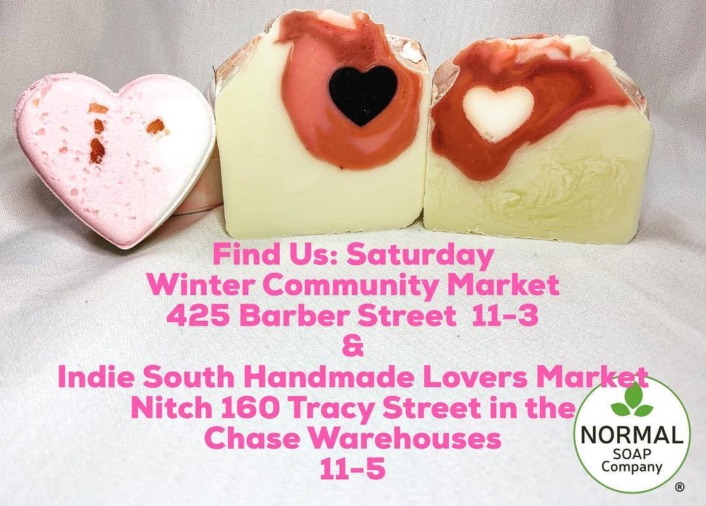 Find us at two locations this Saturday Feb. 9th!