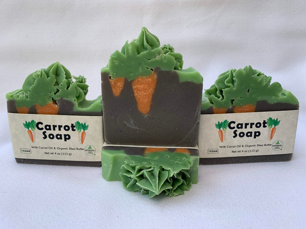Carrot Garden Soap Demonstration