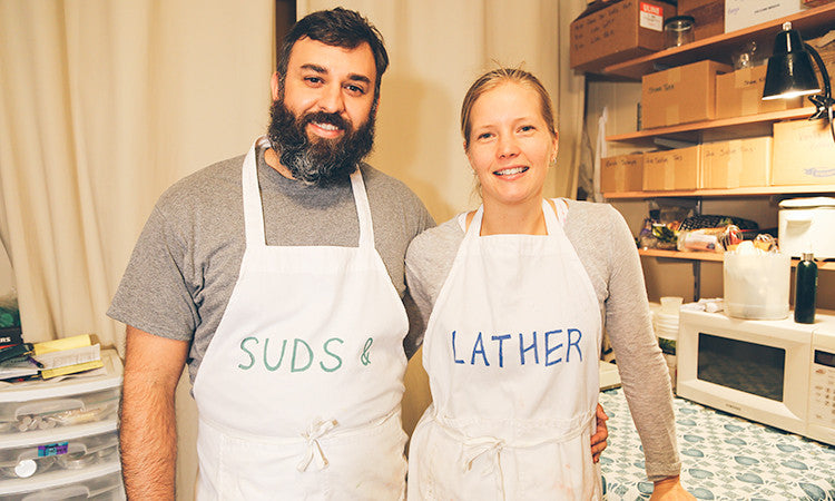 Suds and Lather article