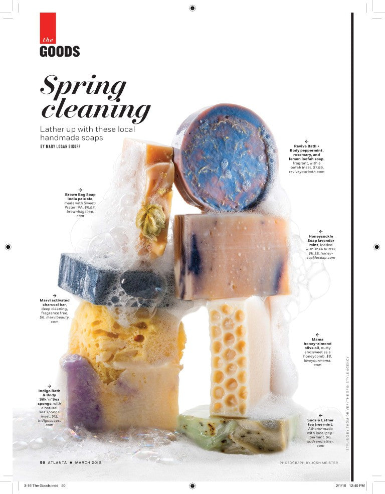 Suds and Lather featured in Atlanta Magazine!
