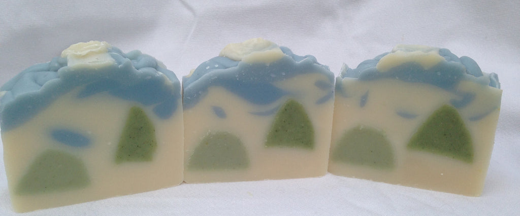 Winter Forest Soap!