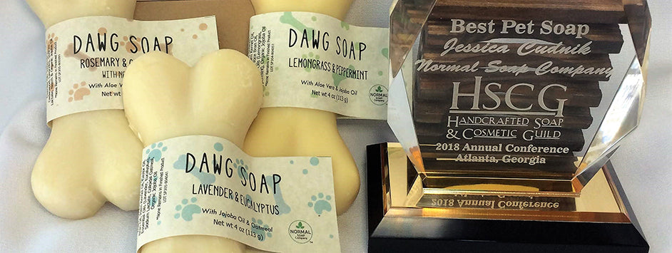 Award Winning Dog Soap will pamper your pup with handcrafted goodness and natural ingredients and essential oils.