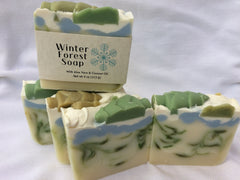 Winter Forest Handmade Natural Soap