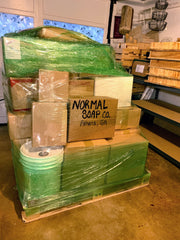 Jedwards Pallet Shipment to Normal Soap Company