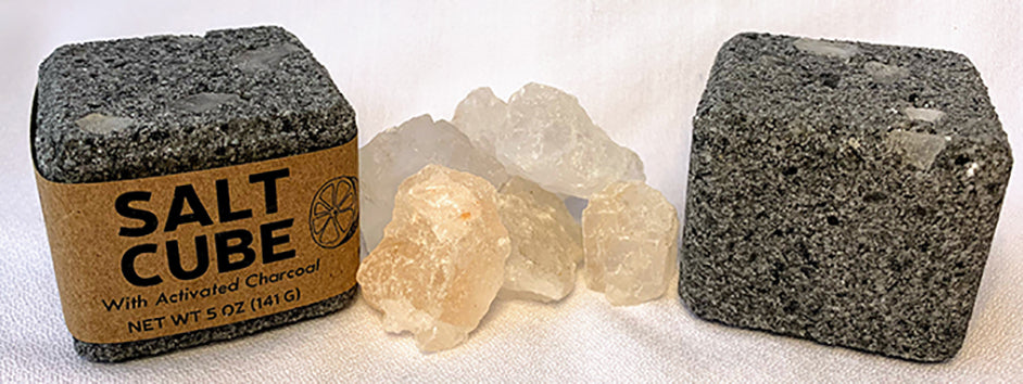 Salt Cubes are an amazing way to add therapeutic benefits to any bath in a simple, no-need-to-measure single use cube.