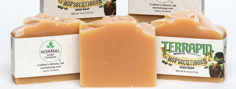 Terrapin Hopsecutioner Handcrafted Soap has Terrapin Beer in the soap!