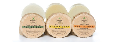 Pumice Soap with Organic Shea and Cocoa Butter
