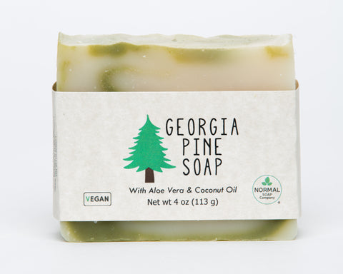 Georgia Pine Soap- Featuring Organic Aloe Vera, Spirulina and Shea Butter