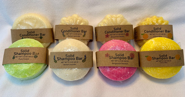 Solid Shampoo and Solid Conditioner pairs perfectly!
