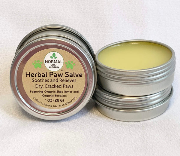 Paw Salve Soothes Dry Cracked Paws