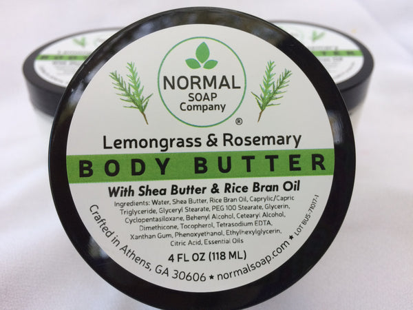 Lemongrass Rosemary Body Butter
