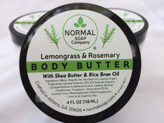 Lemongrass Rosemary Handmade Natural Body Butter